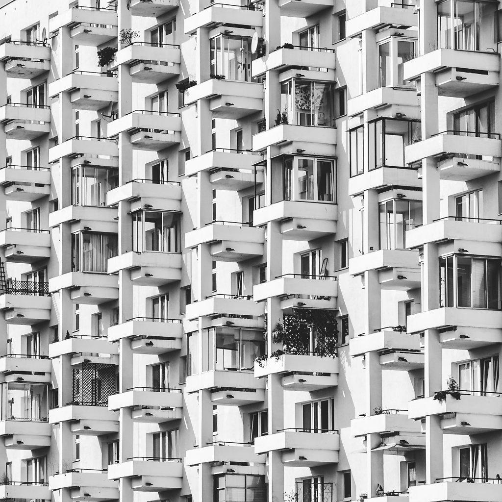 Architecture in square