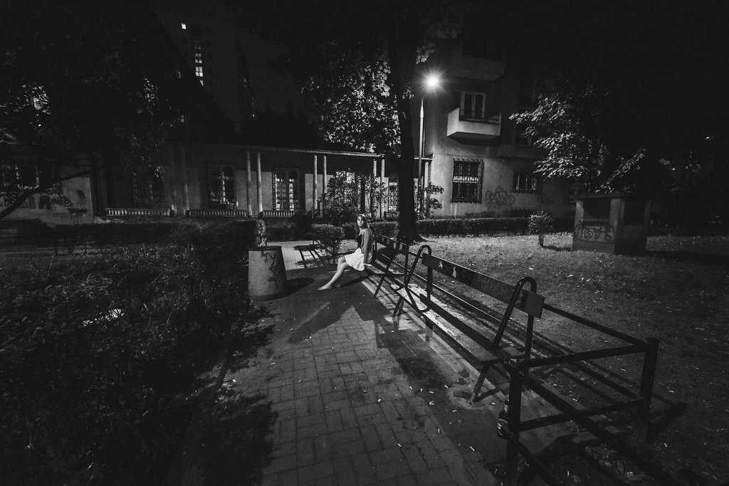 Solitary on the street 2